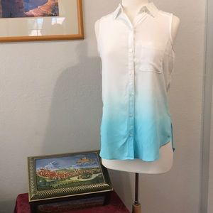 NWT High Low Blouse